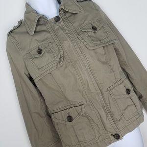 J. Crew Utiliarian Short Blazer Jacket - 2